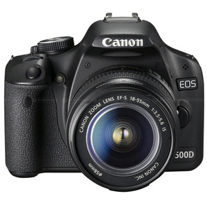 Photo of Canon EOS 500D With Canon EF-S 18-55MM IS Lens Digital Camera