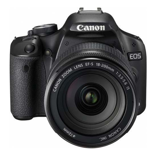Canon EOS 500D with EF-S 18-200mm IS lens