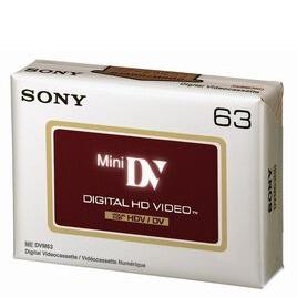Sony DVM63HD Mini DV 63 min Cassette Reviews