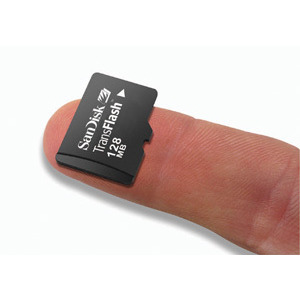 Photo of SanDisk Micro SDHC 4GB Card Memory Card