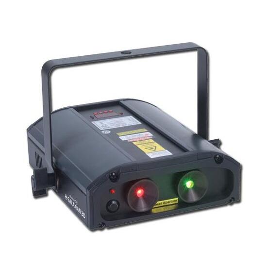 American DJ Galaxian 3D Laser