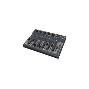 Photo of Behringer XENYX 1002B Premium 10-Input 2-Bus Mixer With Optional Battery Operation Turntables and Mixing Deck