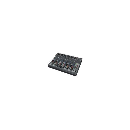 Behringer XENYX 1002B Premium 10-Input 2-Bus Mixer With Optional Battery Operation