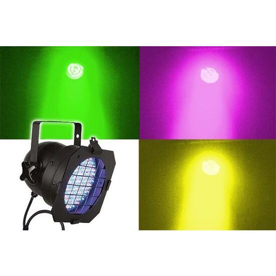 LEDJ LED-56 Can Black