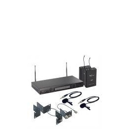 W Audio TPT-202 Twin UHF Lapel Mic System  Reviews