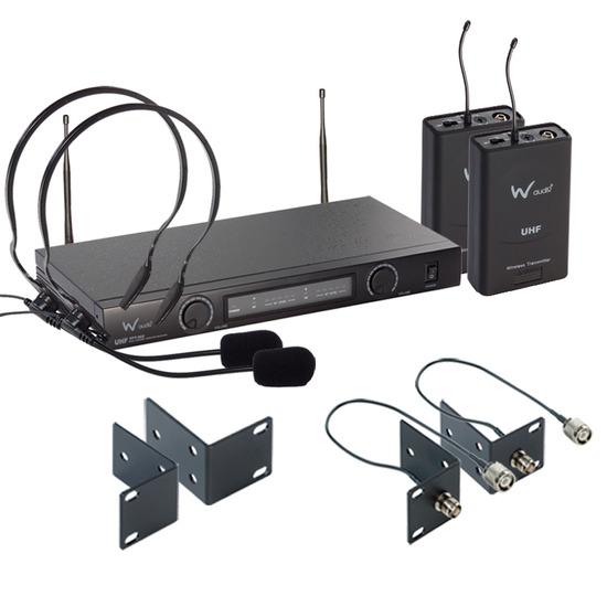 W Audio TPT-202 Twin UHF Headset