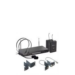 W Audio TPT-202 Twin UHF Headset Mic System (863.13/864.05) Reviews