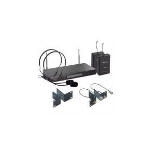 Photo of W Audio TPT-202 Twin UHF Headset Mic System (863.13/864.05) Microphone