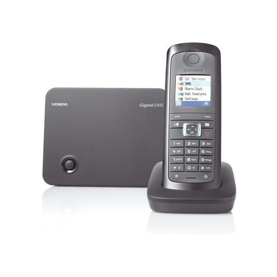 Siemens Gigaset E495 Rugged DECT Cordless Phone - Twin