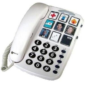 Photo of Geemarc Clearsound PhotoPhone - Hearing Aid Compatible Landline Phone