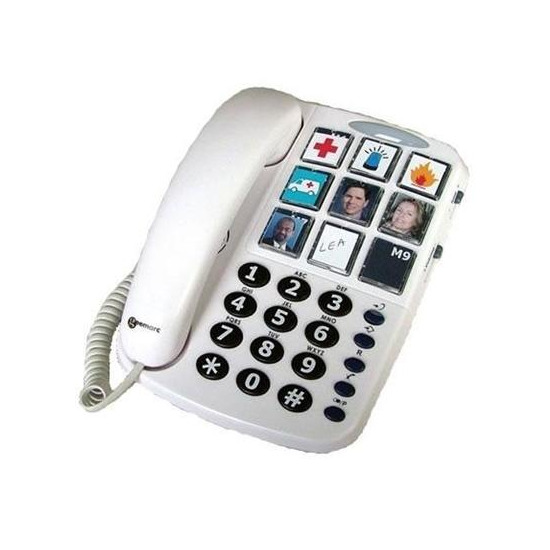 Geemarc Clearsound PhotoPhone - Hearing Aid Compatible
