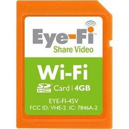 Eye-Fi Share Video Wireless 4GB SD Card