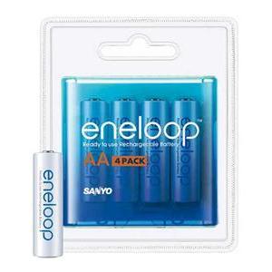 Photo of Eneloop 2000MAH AA NiMH Batteries (Pack Of 4) Battery