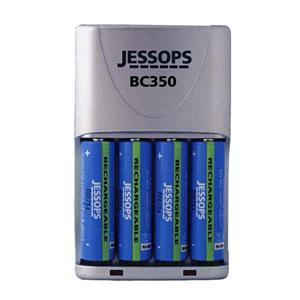 Photo of BC350 Travel Charger With 4X AA 2500MAH Ni-MH Batteries Battery Charger