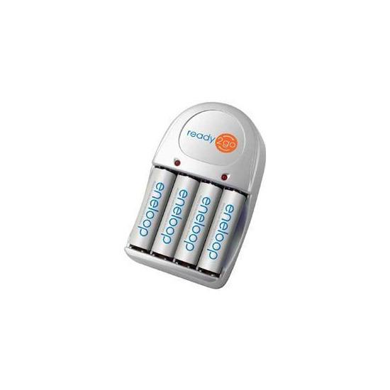 Sanyo Eneloop Charger 4X 2000MAH AA Batteries