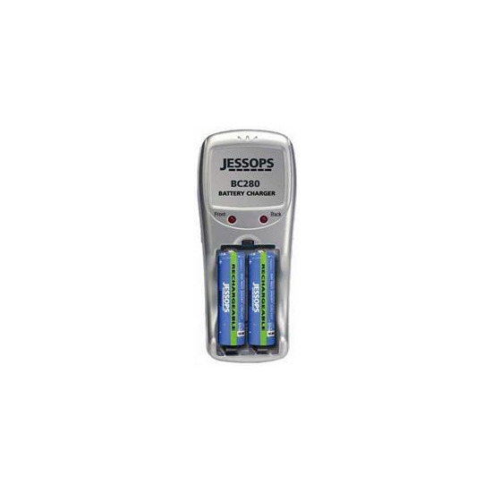 Jessops BC280 Charger 4X AA 4X AAA Batteries