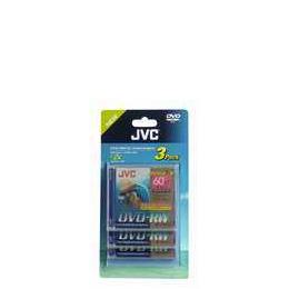 JVC DVD-RW 8C M 3PK Reviews