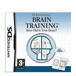 Dr Kawashima's Brain Training: How Old Is Your Brain? (DS) Reviews