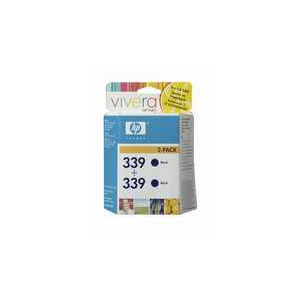 Photo of Original HP No.339 Black Printer Ink Cartridge Twinpack C9504EE Ink Cartridge