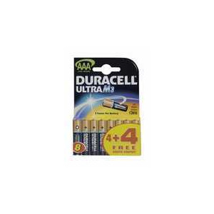 Photo of DURACELL AAA4+4FRE E BATT Battery
