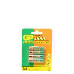 GP Batteries 1000 X4 AAA Reviews