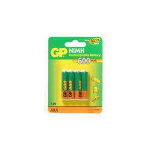 Photo of GP GP600X4AA A Battery