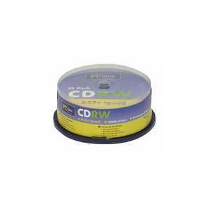 Photo of PC LINE CDRWX25CB CD-RW CD RW