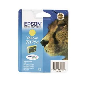 Photo of Epson T0714 Yellow Ink Cartridge
