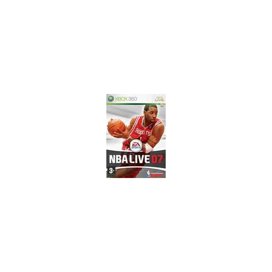 MICROSOFT NBA LIVE 07XB360
