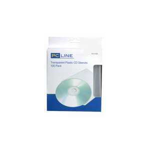 Photo of PC Line SLV100L CD Sleeves CD and DVD Storage
