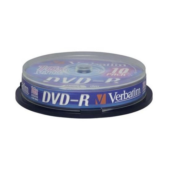 Verbatim DVD-R 16X 50PK
