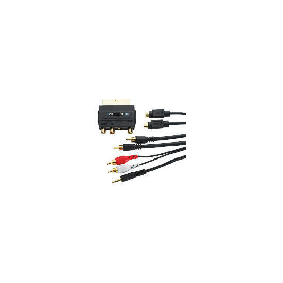Belkin PC-DVD to TV Cable Kit, F8V3337Aea5MPDQ