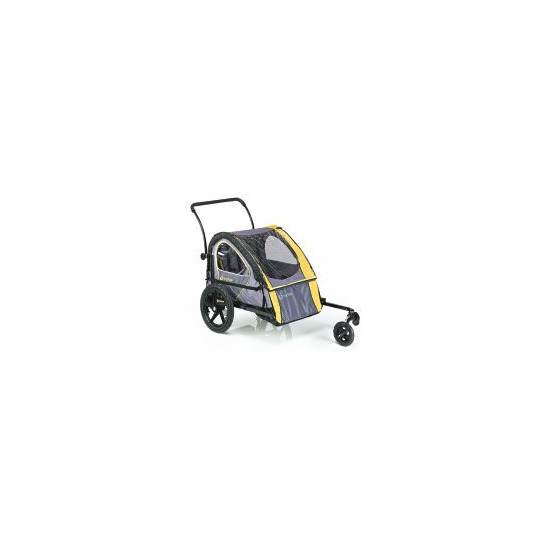 InSTEP double child trailer