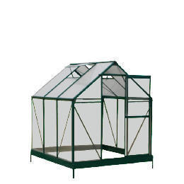 6 x 6 Aluminium & Polycarb Greenhouse Reviews