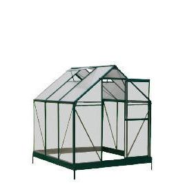 6 x 6 Aluminium & Polycarb Greenhouse Reviews