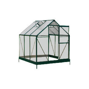 Photo of 6 X 6 Aluminium & Polycarb Greenhouse Shed
