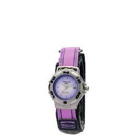Kahuna Ladies Lilac Velcro Strap Watch Reviews