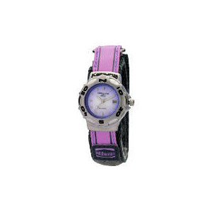 Photo of Kahuna Ladies Lilac Velcro Strap Watch Watches Woman