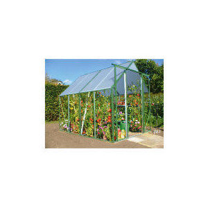 Photo of 6 X 8 Steel and PVC Greenhouse Greenhouse