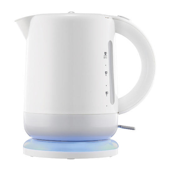 Tesco Illuminating White Kettle