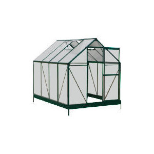 Photo of 6 X 8 Aluminium & Polycarb Greenhouse Shed