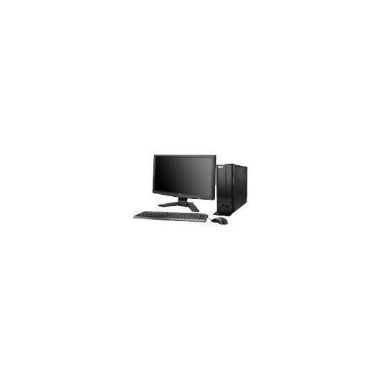 "Acer ASX1300 Quad Core Desktop and 19"" PC Monitor"