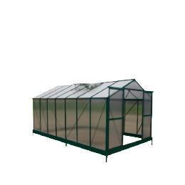 8 x 14  Aluminium & Polycarb Greenhouse Reviews