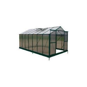 Photo of 8 X 14  Aluminium & Polycarb Greenhouse Greenhouse