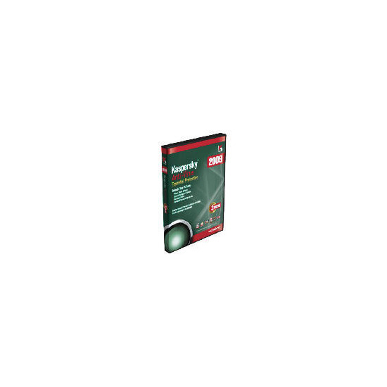 Kaspersky Anti-Virus 2009 3 User Edition