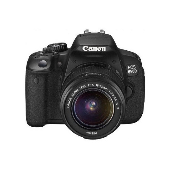Canon EOS 650D with 18-55mm Lens