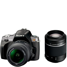 Sony Alpha DSLR-A230Y with 18-55mm and 55-200mm lenses Reviews