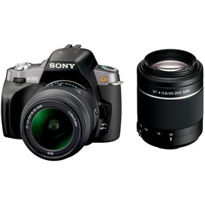 Photo of Sony Alpha DSLR-A230Y With 18-55MM and 55-200MM Lenses Digital Camera