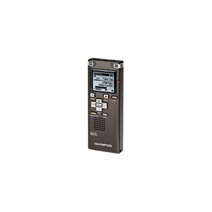 Photo of Olympus WS 560M - Digital Voice Recorder - Flash 4 GB - WMA, MP3, Protected WMA (DRM 9) - Black Dictation Machine