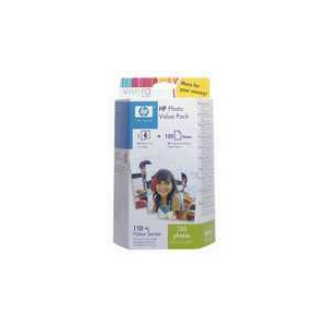 Photo of HEWLETPACK 110TRICOL PHOTOPK Ink Cartridge
